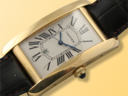 Cartier Tank Am�ricaine (American) 18K Yellow Gold Watch