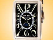Franck Muller Long Island Master Calendar Special Glasgow Edition Men's Automatic 18K White Gold Watch 1200 MC L