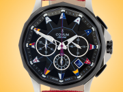 Corum Admiral's Cup Legend 42 Men's Automatic Stainless Steel Chronograph Watch 984.114.20/0606 AN20