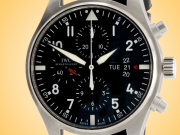 IWC Pilot Chronograph Men's Automatic Stainless Steel Watch IW3777-01