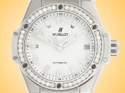 Hublot Big Bang One Click 39 mm Diamond White Dial Ladies Automatic Watch 465.SE.2010.RW.1204