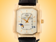 Glashutte Original Senator Karree Perpetual Calendar 18K Yellow Gold Automatic Men's Watch 39-51-01-01-04