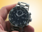 Oris Carlos Coste Chronograph Limited Edition Diver's Titanium Men's Watch