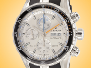 EDOX Grand Ocean Automatic Chronograph Stainless Steel Men's Watch Model: 01123 3ORCA ABUN