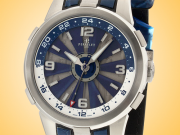 Perrelet Turbine GMT Automatic Stainless Steel Men's Watch A1092/1A
