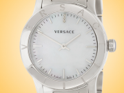 Versace Acorn Stainless Steel Ladies Watch Model: VQA080017
