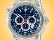 Carl F. Bucherer Patravi TravelTec Automatic Chronograph GMT Stainless Steel Watch 00.10620.08.53.21