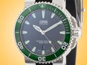 Oris Aquis Date Automatic Stainless Steel Men's Watch 01 733 7653 4137-07 4 26 34EB