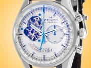 ZENITH Chronomaster El Primero Open Power Reserve Automatic Stainless Steel Chronograph Men's Watch 03.2080.4021/01.C494