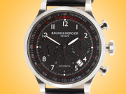 Baume & Mercier Capeland Automatic Chronograph Stainless Steel Men's Watch MOA10003