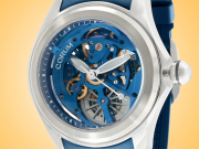 Corum Bubble 47 Skeleton Automatic Stainless Steel Men's Watch 082.400.20/0373 SQ13