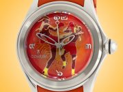 Corum Bubble Thai Boxing Dial Men's Automatic Stainless Steel Watch 082.310.20/0374 BT01L