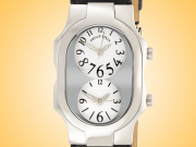 Philip Stein Teslar Signature Series Stainless Steel Quartz Ladies Watch 1-G-FW-CB