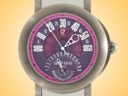 Gerald Genta Arena BiRetro Sport Titanium Automatic Watch BSP-Y-80-267-RW-BD