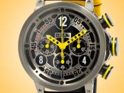 B.R.M Ringmaster Automatic Black PVD Titanium Chronograph Men's Watch V16-46-RINGMASTER-AJ