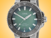 Oris Aquis Date 39.5 mm Automatic Stainless Steel Men's Watch 01 733 7732 4137-07 5 21 12FC