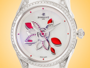 Perrelet Diamond Flower Stainless Steel / Diamonds / Rubies Ladies Watch – Model: A2038/A