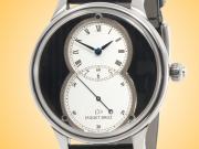 Jaquet Droz Grande Seconde Côtes de Genève Dial Automatic 18K White Gold Men's Watch J014014276