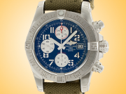 Breitling Avenger II Automatic Chronograph Stainless Steel Men's Watch A1338111/C870-106W