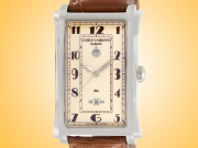 Cuervo Y Sobrinos Prominente Solo Tiempo Date Automatic Stainless Steel Watch 1012.1CV