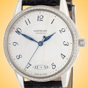 Montblanc Boheme Automatic Stainless Steel Diamonds Ladies Watch 114734