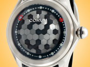 "Corum ""Big Bubble"" Magical 52 Automatic Grade 5 Titanium Men's Watch 390.101.04/0602 HX01"