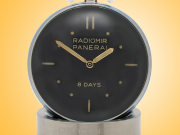 Officine Panerai Radiomir Stainless Steel Manually Wound Table Clock PAM00641