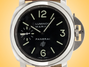 Officine Panerai Luminor Marina Logo Acciaio Men's Hand-wound Stainless Steel Watch PAM01005