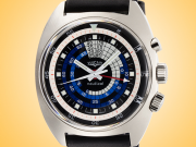 Vulcain Nautical Seventies Hand-wound Stainless Steel Limited Edition Men's Watch 100159.082L