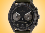 EDOX Chronorally-S Chronograph Black PVD Men's Watch Model: 09503 37NNVCV NNV