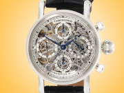 Chronoswiss Opus Skeleton Automatic Chronograph Stainless Steel Men's Watch CH 7523 S