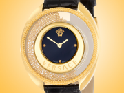 Versace Destiny Spirit Yellow Gold-tone Stainless Steel Ladies Watch Model: VAR100017