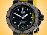 Oris Aquis Depth Gauge Automatic Black DLC-coated Stainless Steel Men's Watch 01 733 7675 4754 RS