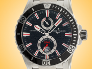 Ulysse Nardin Maxi Marine Diver Automatic Stainless Steel Men's Watch 263-10-7M/92