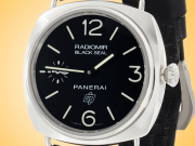 Officine Panerai Historic Collection Radiomir Black Seal Logo Stainless Steel Watch PAM00380