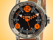B.R.M V6 Hybrid Movement Stainless Steel Men's Watch V6-44-HB-BG-CH-ADO