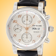 Montblanc Star Collection Automatic Chronograph Stainless Steel Men's Watch 113847