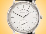 A. Lange & Sohne Saxonia 18k White Gold Automatic Men's Watch 380.026