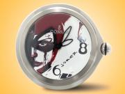 Corum Bubble Joker Stainless Steel Desk Clock 0092/00002