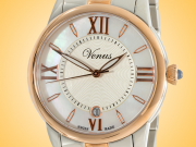 VENUS of Switzerland Impetus Collection Date Ladies Watch Model: VE-3116A8-4R4-B8